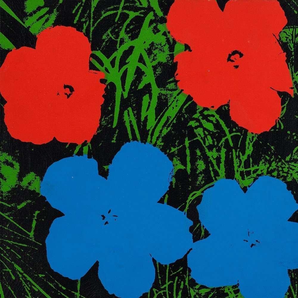 Andy Warhol (1928-1987), Silkscreen on canvas, - 8