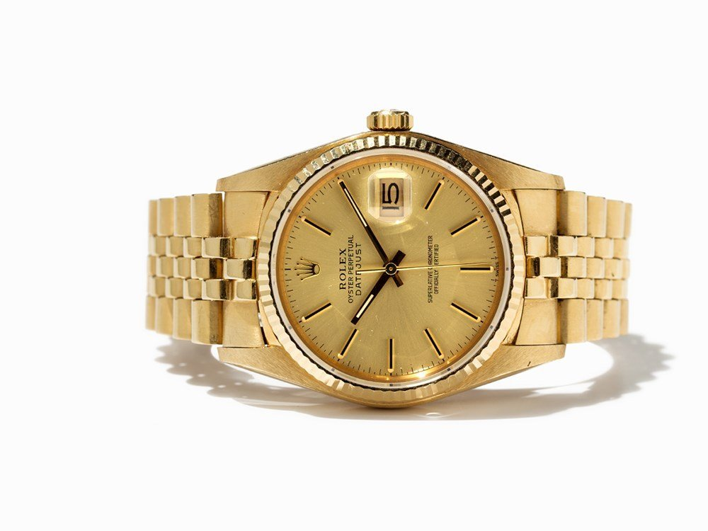 Rolex Datejust Chronometer, Ref. 16000/16013, Around