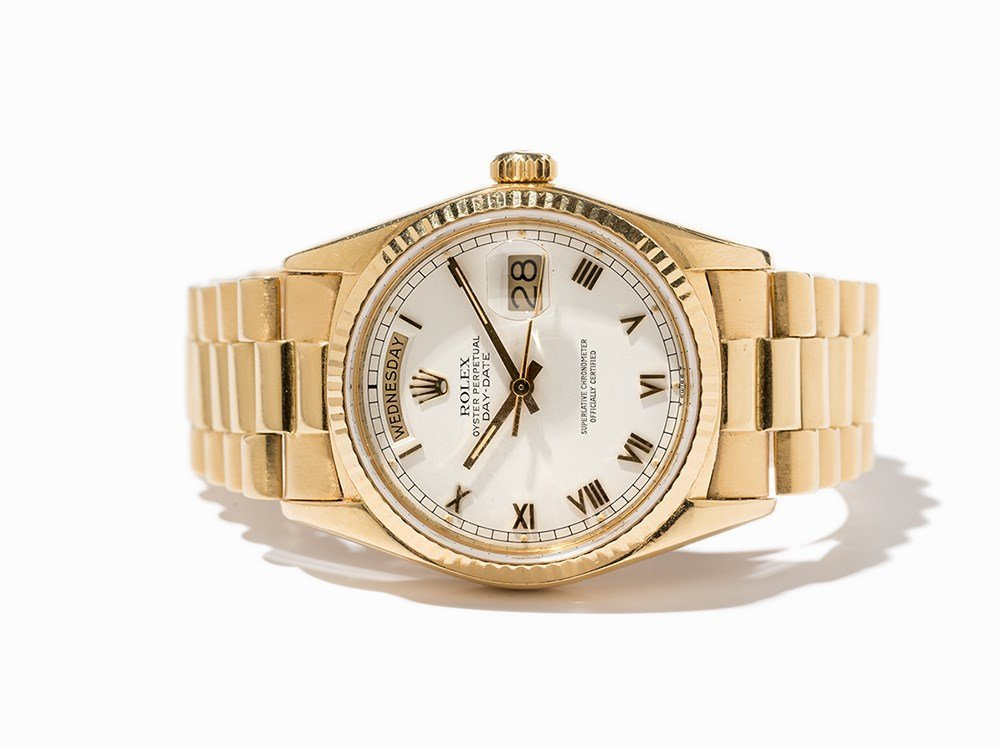 Rolex Day Date Chronometer, Ref. 18038, Switzerland