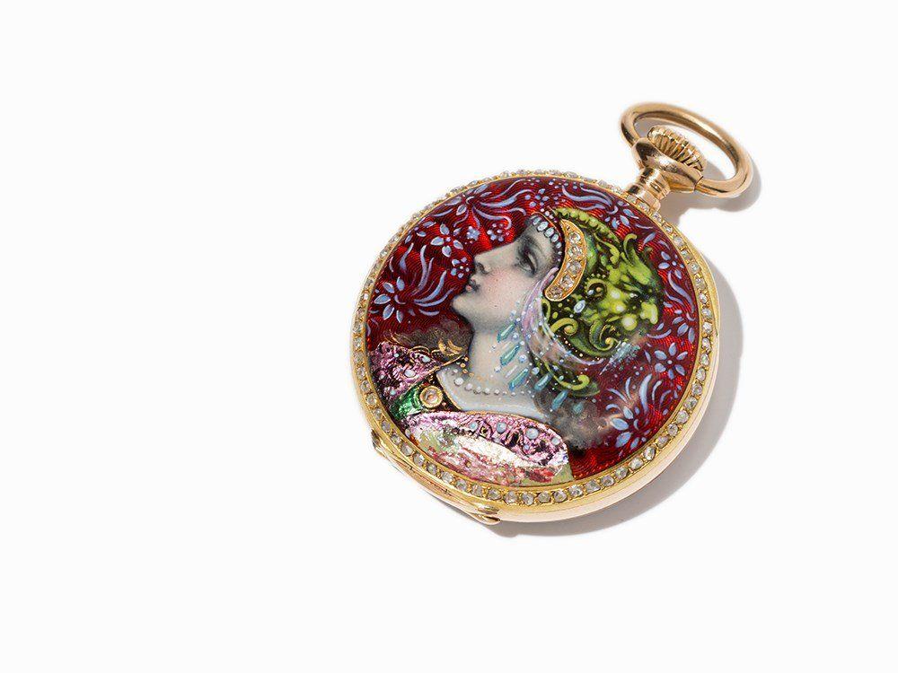 Patek Philippe Pocket Watch, Switzerland, Around 1900