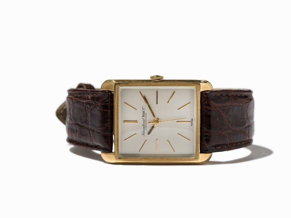 IWC Gold Wristwatch, Switzerland, Around 1965