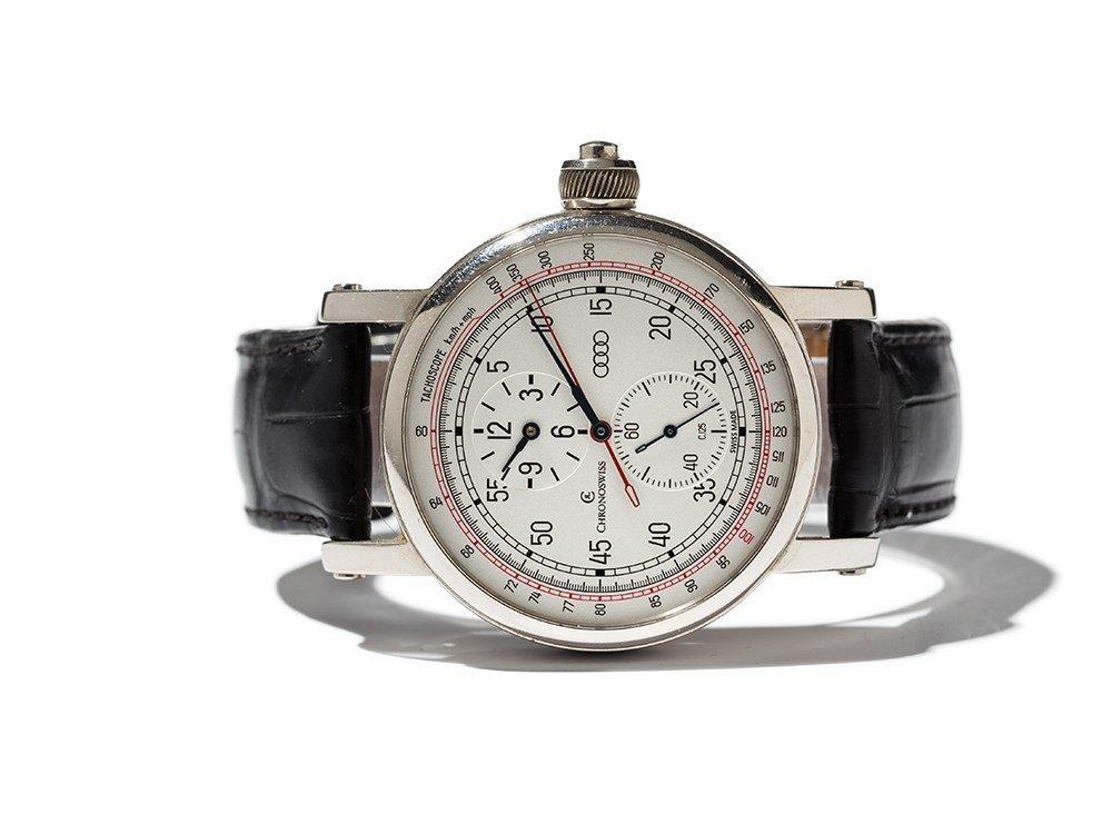 Chronoswiss AUDI Tachoscope Wristwatch, Switzerland, C.
