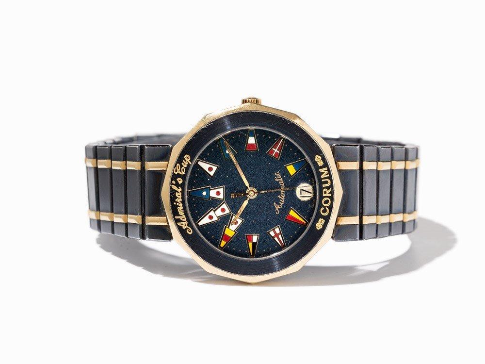Corum Admiral's Cup Wristwatch, Switzerland, Around