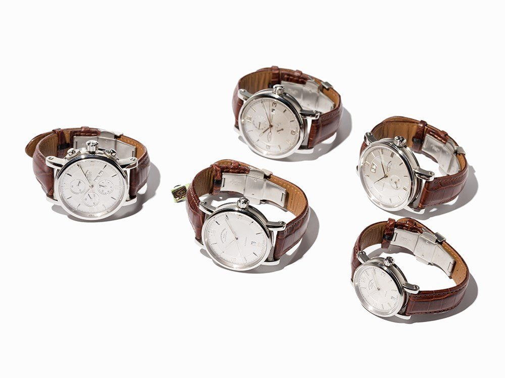 Set 5 Nautical Instrument Men's Watches, Germany,