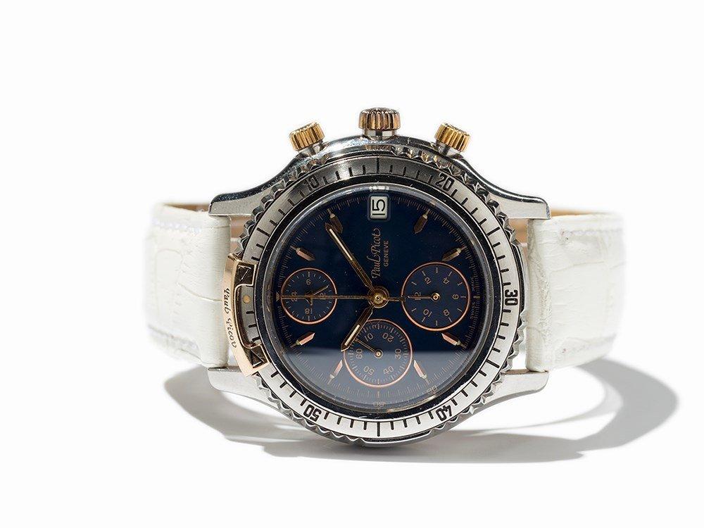 Paul Picot Chronograph Wristwatch, Switzerland, Around