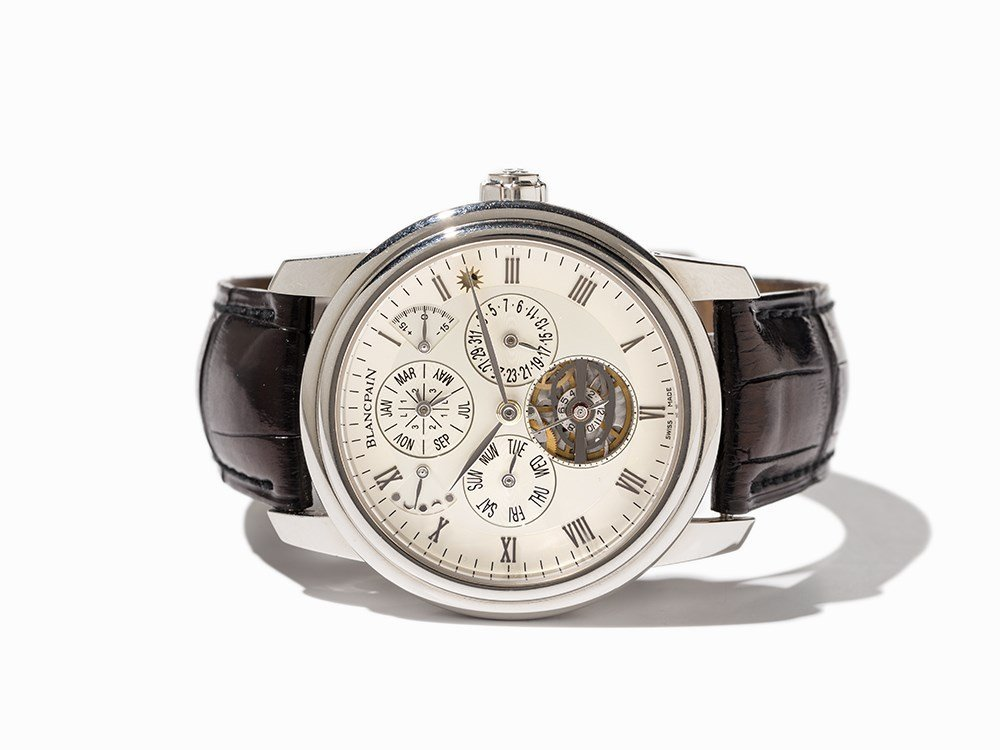 Blancpain Marchante Equation of Time, Ref. 4238, Around