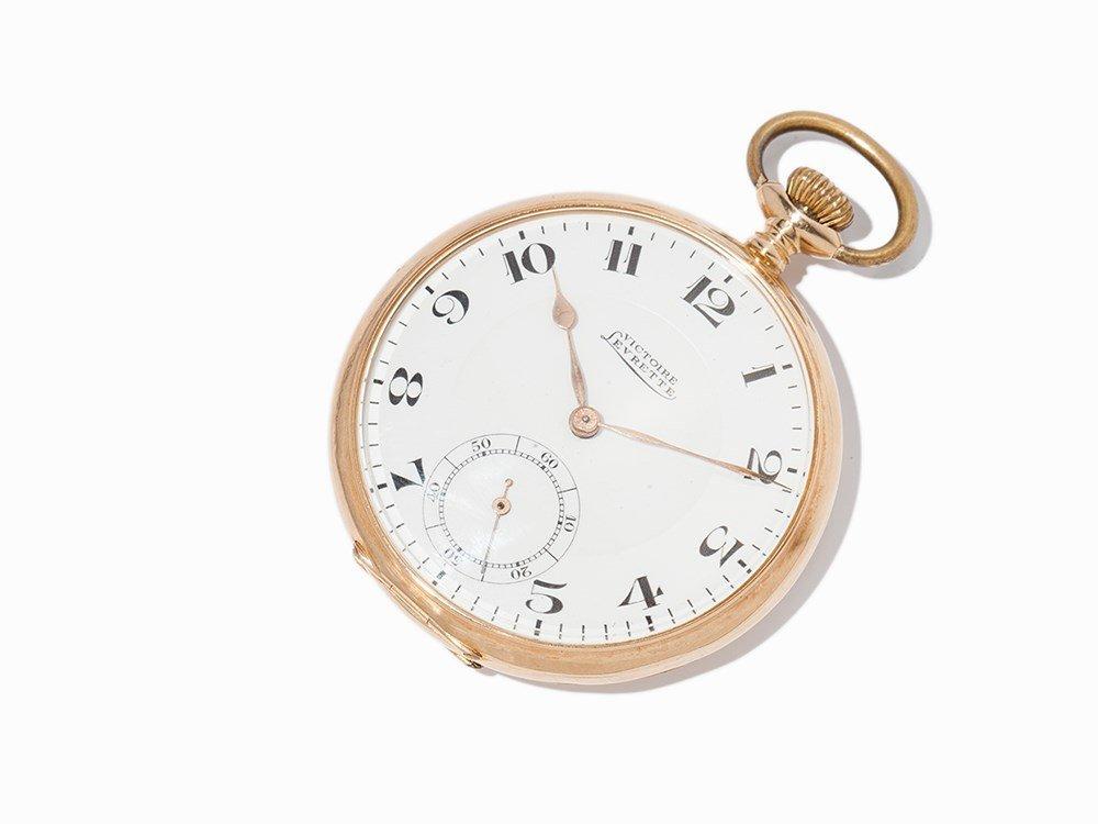 Victoire Levrette Pocket Watch, Switzerland, Around