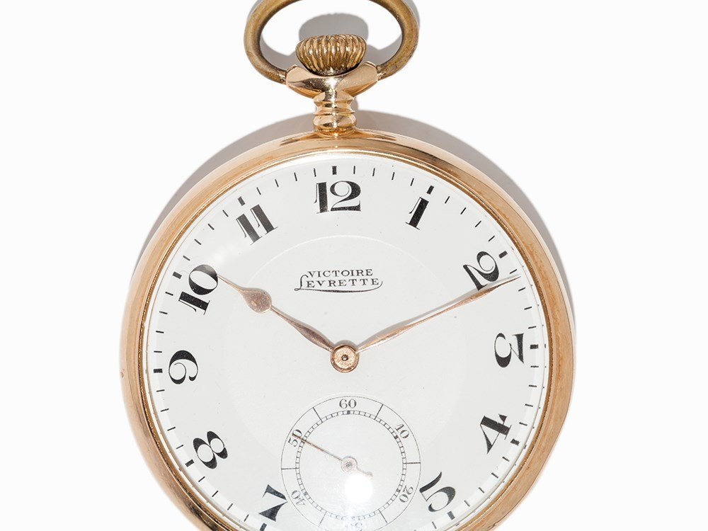 Victoire Levrette Pocket Watch, Switzerland, Around - 2