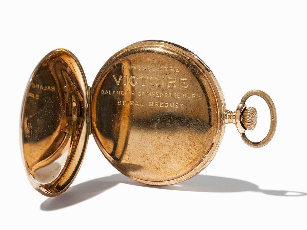 Victoire Levrette Pocket Watch, Switzerland, Around - 4