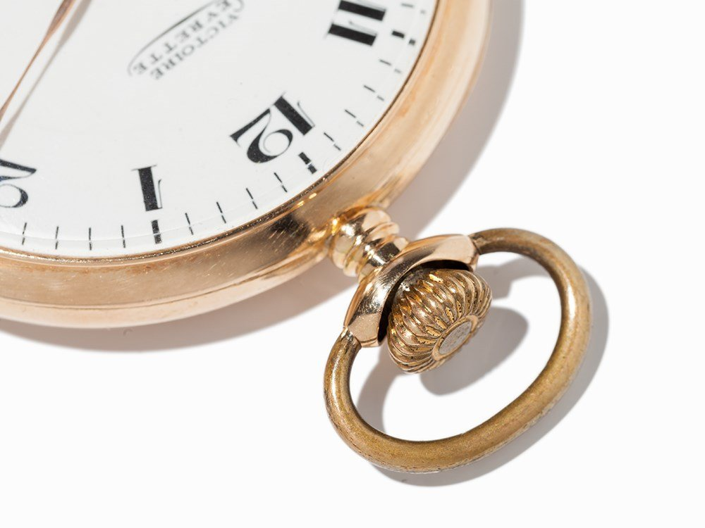 Victoire Levrette Pocket Watch, Switzerland, Around - 9