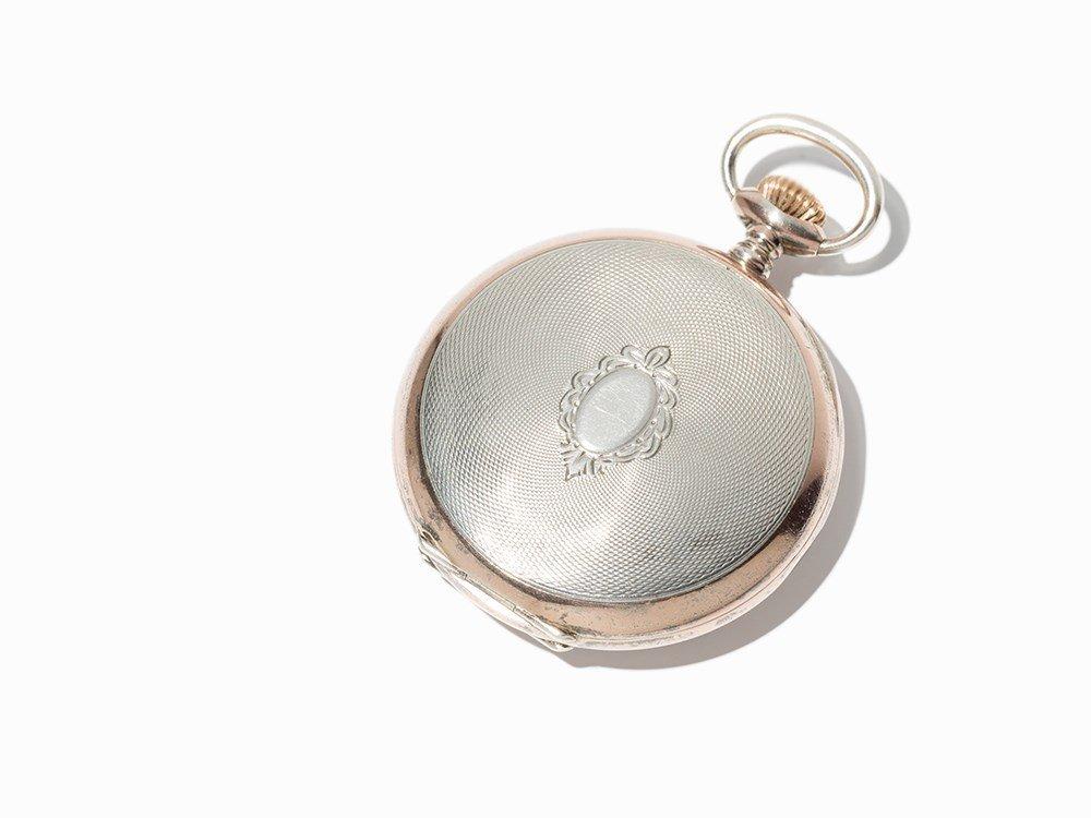 Perfecta Silver Pocket Watch, Switzerland, Around 1900 - 10