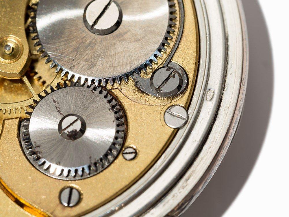 Perfecta Silver Pocket Watch, Switzerland, Around 1900 - 4
