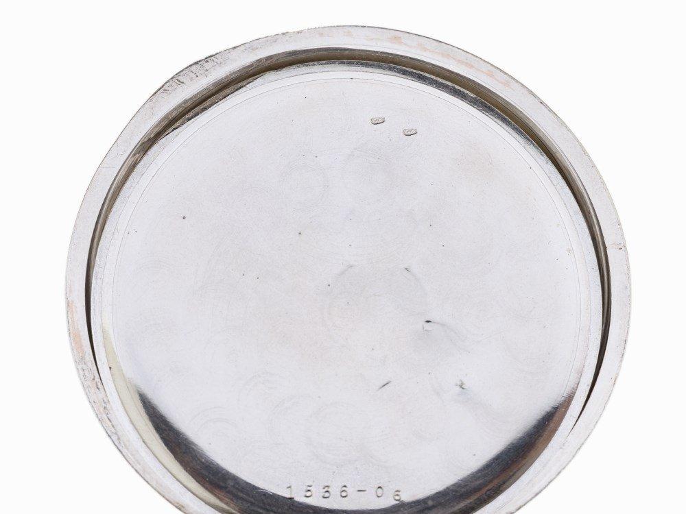 Perfecta Silver Pocket Watch, Switzerland, Around 1900 - 7