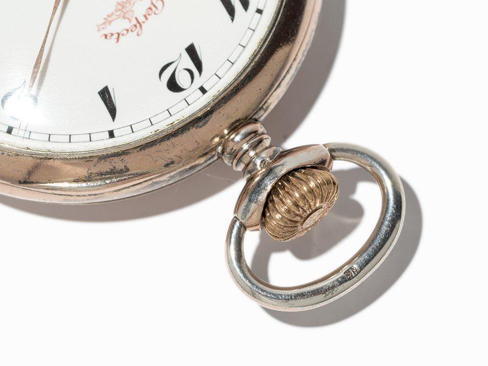 Perfecta Silver Pocket Watch, Switzerland, Around 1900 - 8