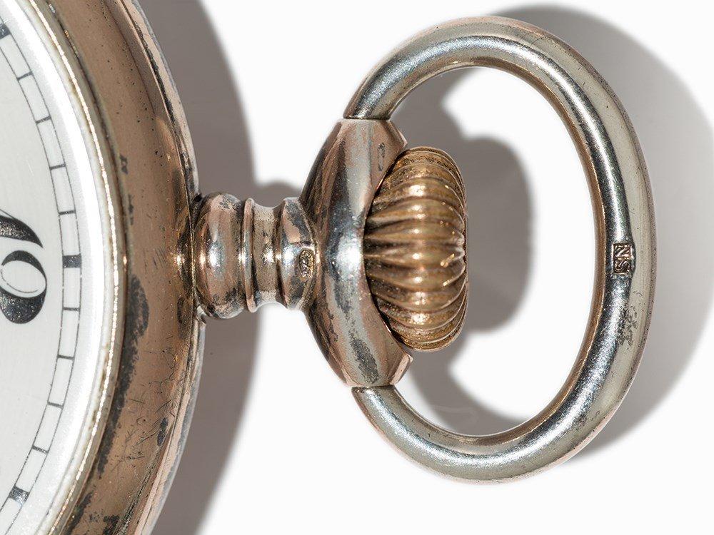 Perfecta Silver Pocket Watch, Switzerland, Around 1900 - 9