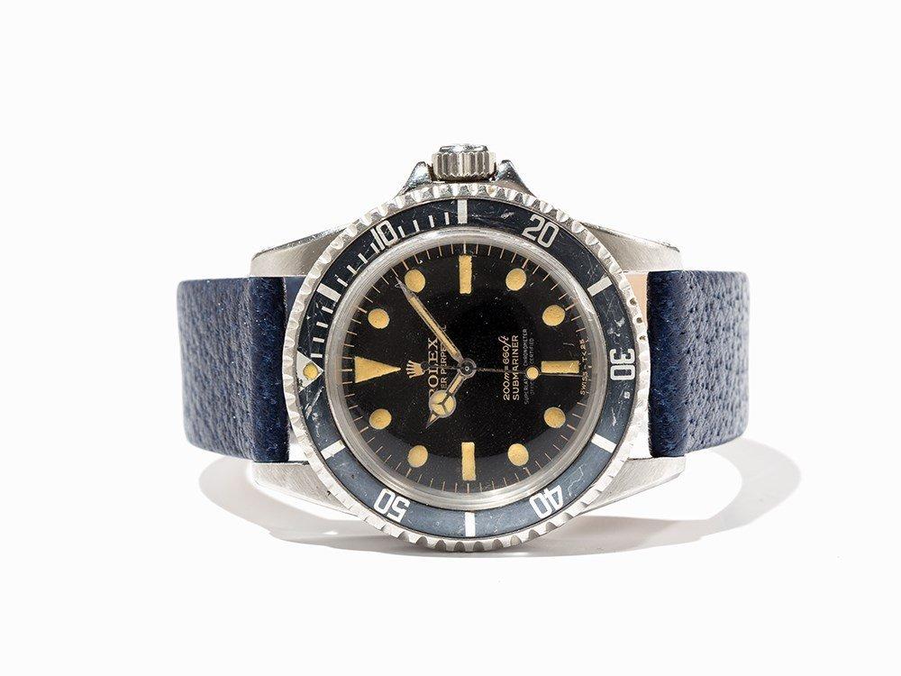 Rolex Submariner, Ref. 5512/5513, Switzerland, Around