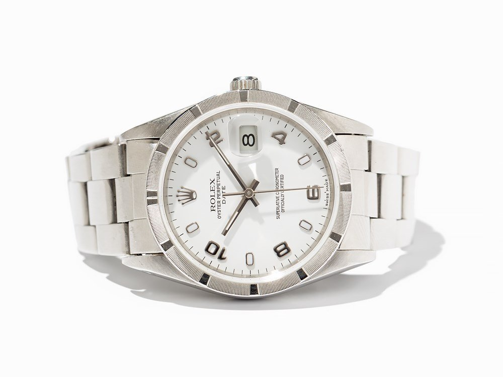 Rolex Date Chronometer, Ref. 15210, Switzerland, Around