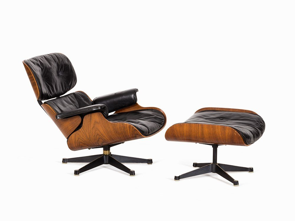 Charles & Ray Eames, Lounge Chair and Ottoman, Vitra,