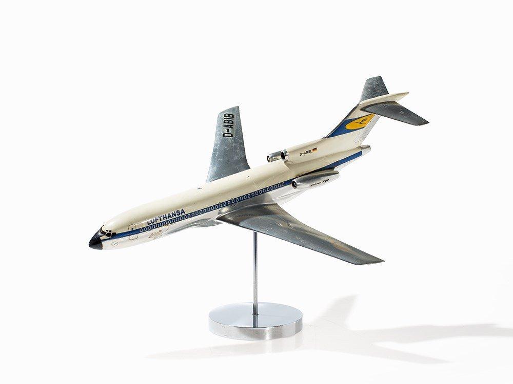 Lufthansa Airplane Model Boeing 727 D-ABIB, Mecater,