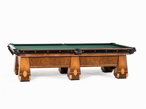 Brunswick Art Deco Pool Table Monarch Cushions USA - Brunswick monarch pool table