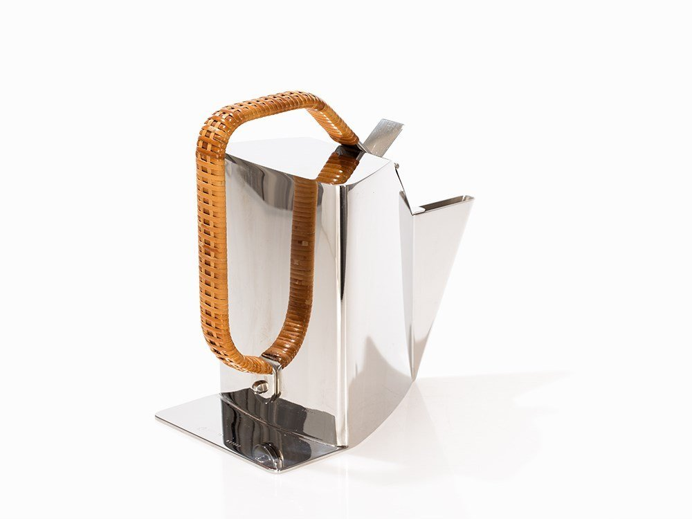 Richard Sapper, Alessi, Stainless Steel Teapot - 6