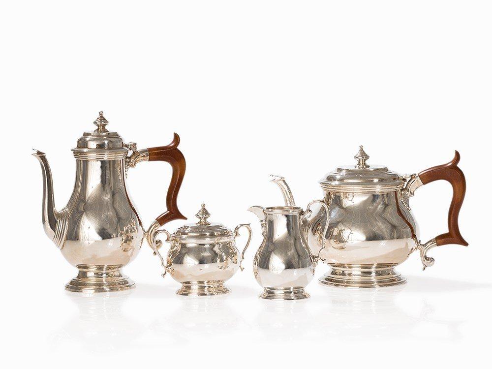 Silver Four-Piece Tea & CoffeeService, Birmingham,