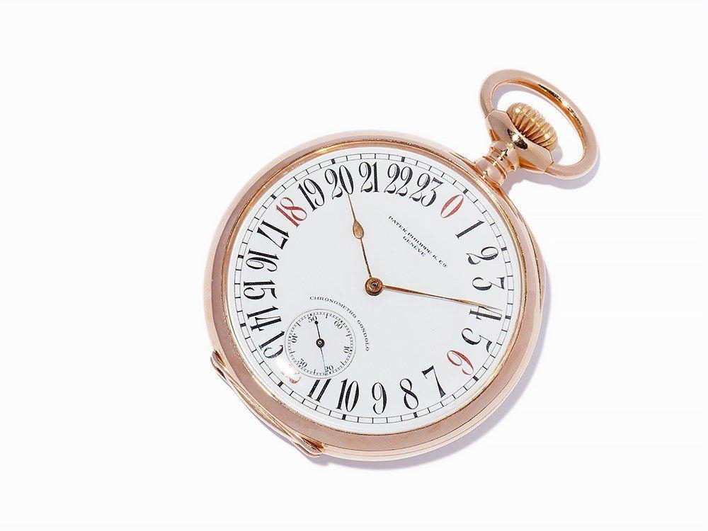 Patek Philippe Gondolo 24-h Pocket Watch, Switzerland,