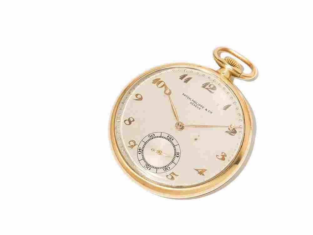 Patek Philippe Pocket Watch, Switzerland, Around 1925