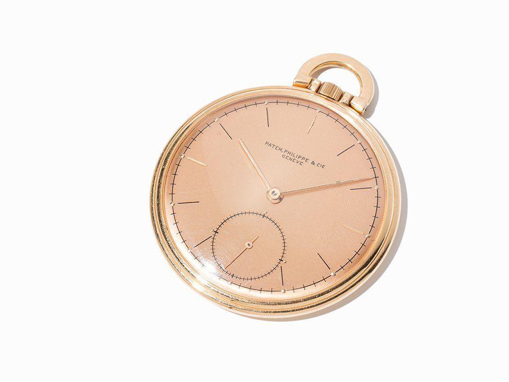 Patek Philippe Pocket Watch, Switzerland, Around 1920