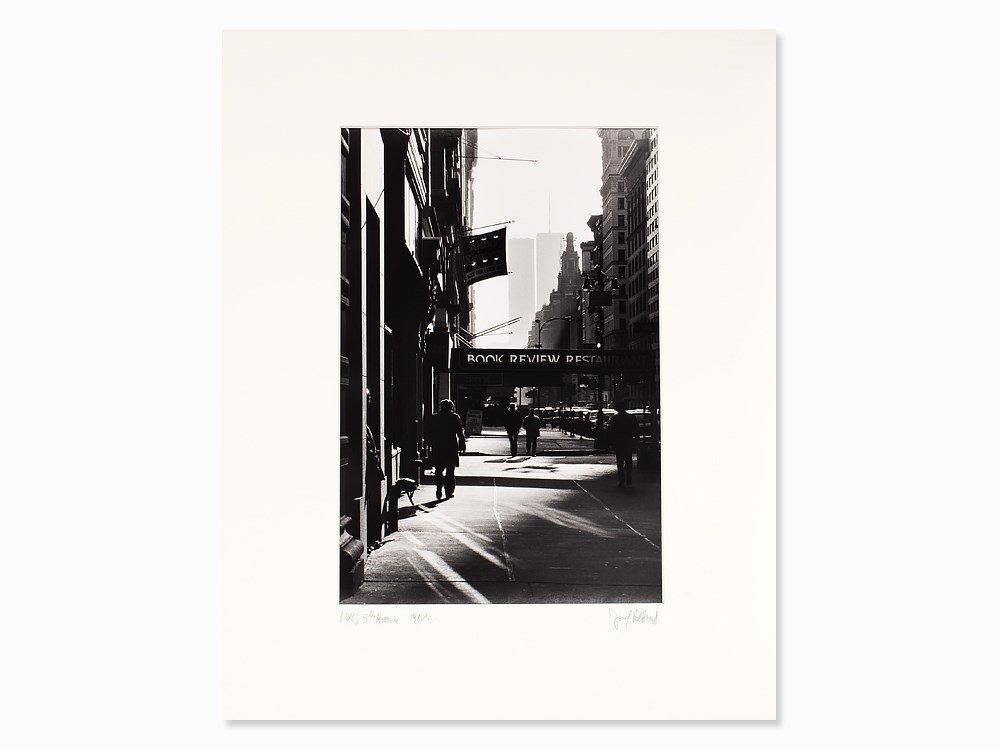 Josef Polleross (b. 1963), '5th Avenue', Signed, NYC,