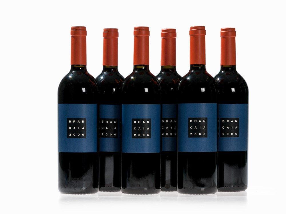 6 Bottles 2006 Brancaia Il Blu, Toscana IGT