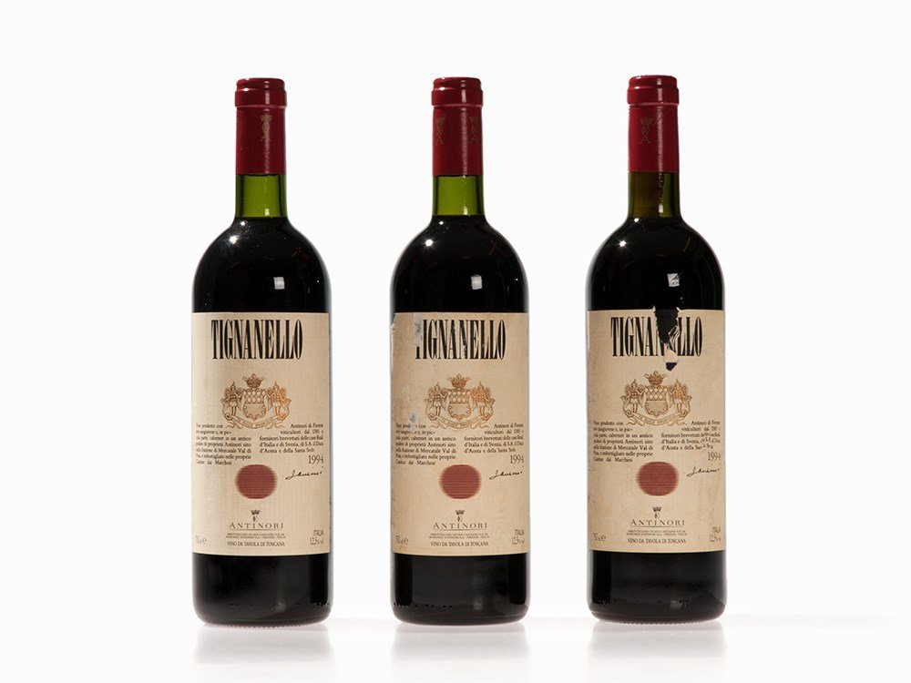 3 Bottles 1994 Antinori Tignanello, Tuscany