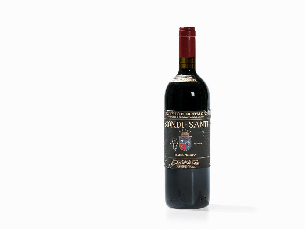 1 Bottle 1997 Biondi-Santi Brunello Tenuta Greppo