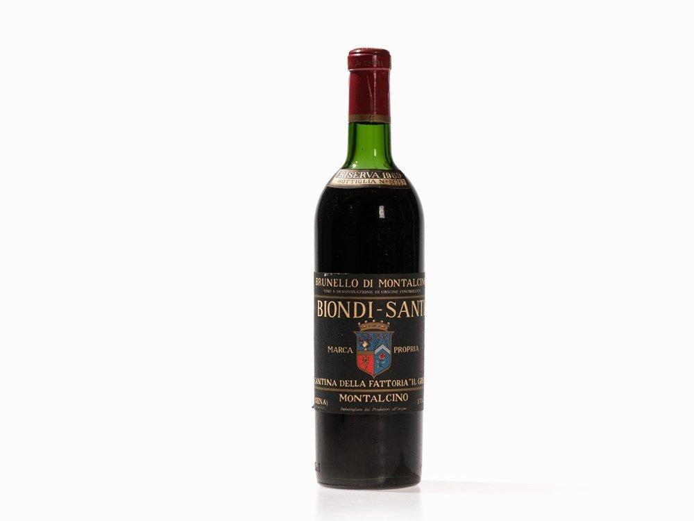 1 Bottle 1969 Biondi-Santi Brunello Tenuta Il Greppo