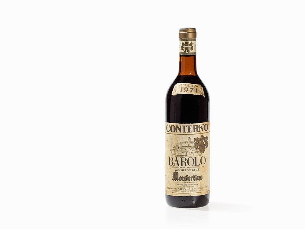 1 Bottle 1971 G. Conterno Barolo Monfortino Riserva