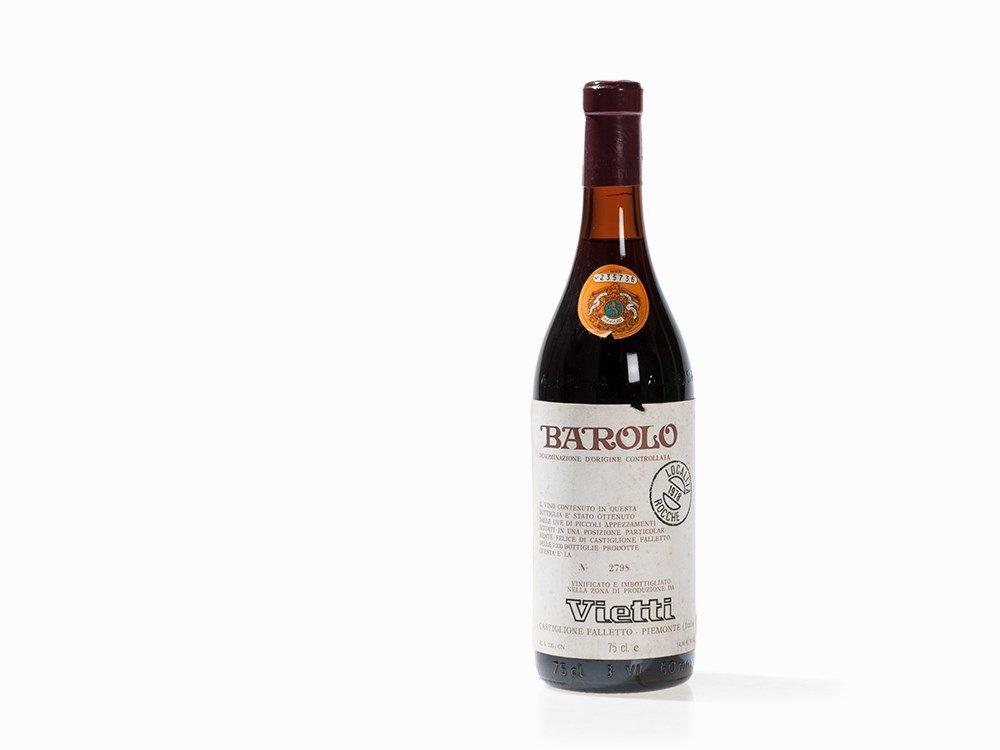 1 Bottle 1978 Vietti Barolo Rocche, Piedmont