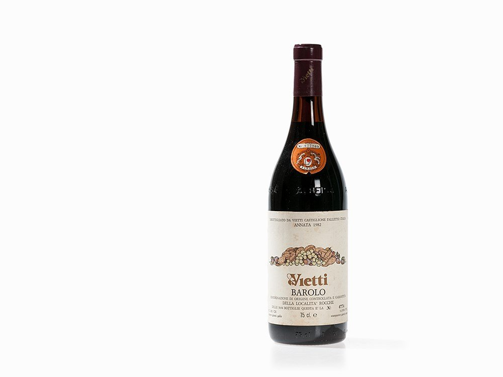 1 Bottle 1982 Vietti Barolo Rocche, Piedmont