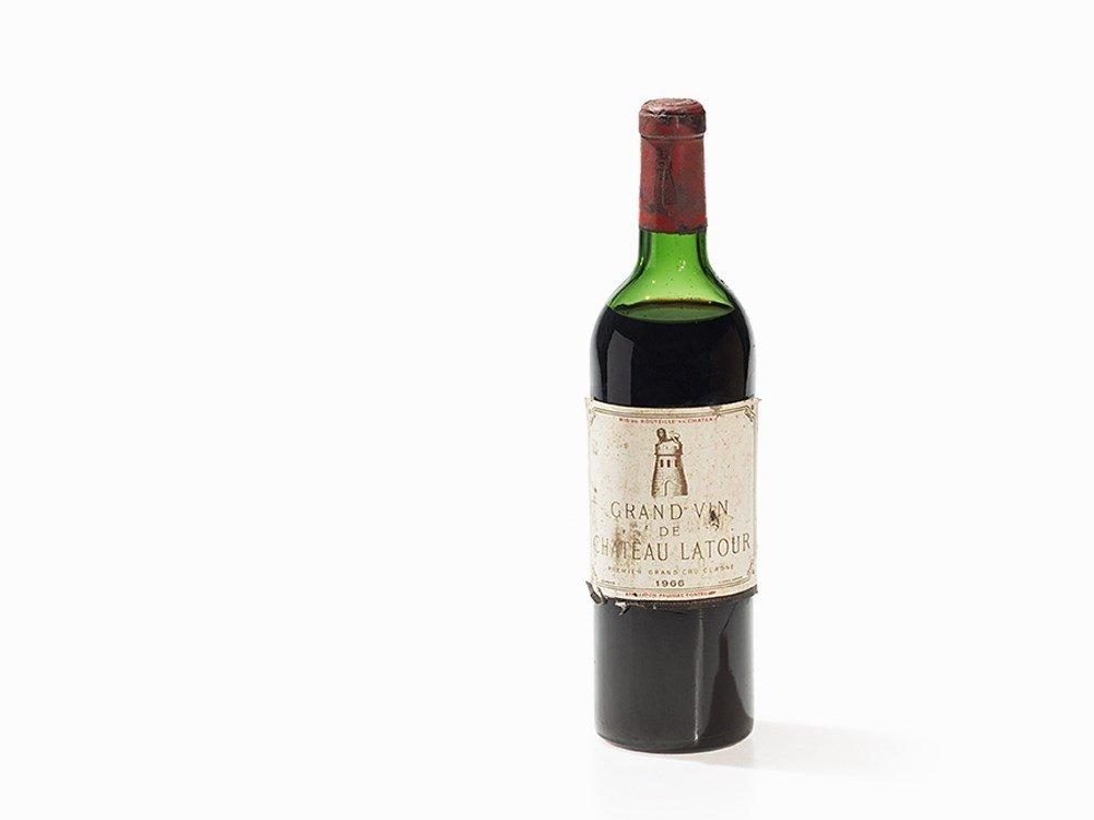 1 Bottle 1966 Château Latour, Pauillac