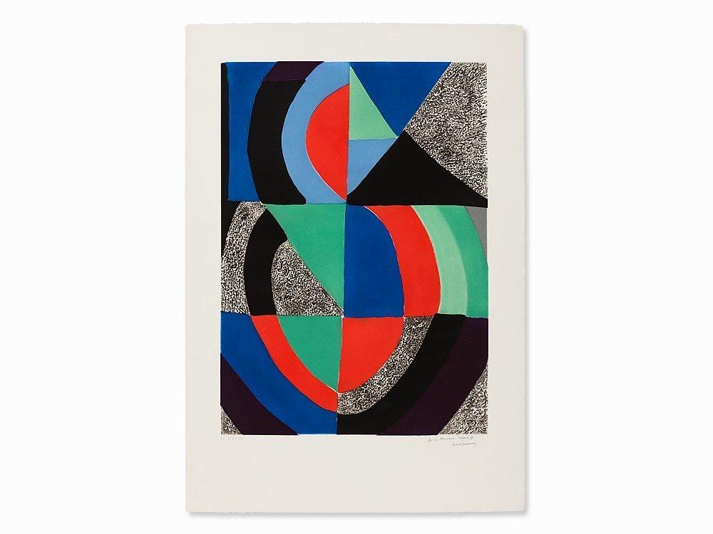 Sonia Delaunay-Terk, Aquatint, Grande Icône I, c. 1970