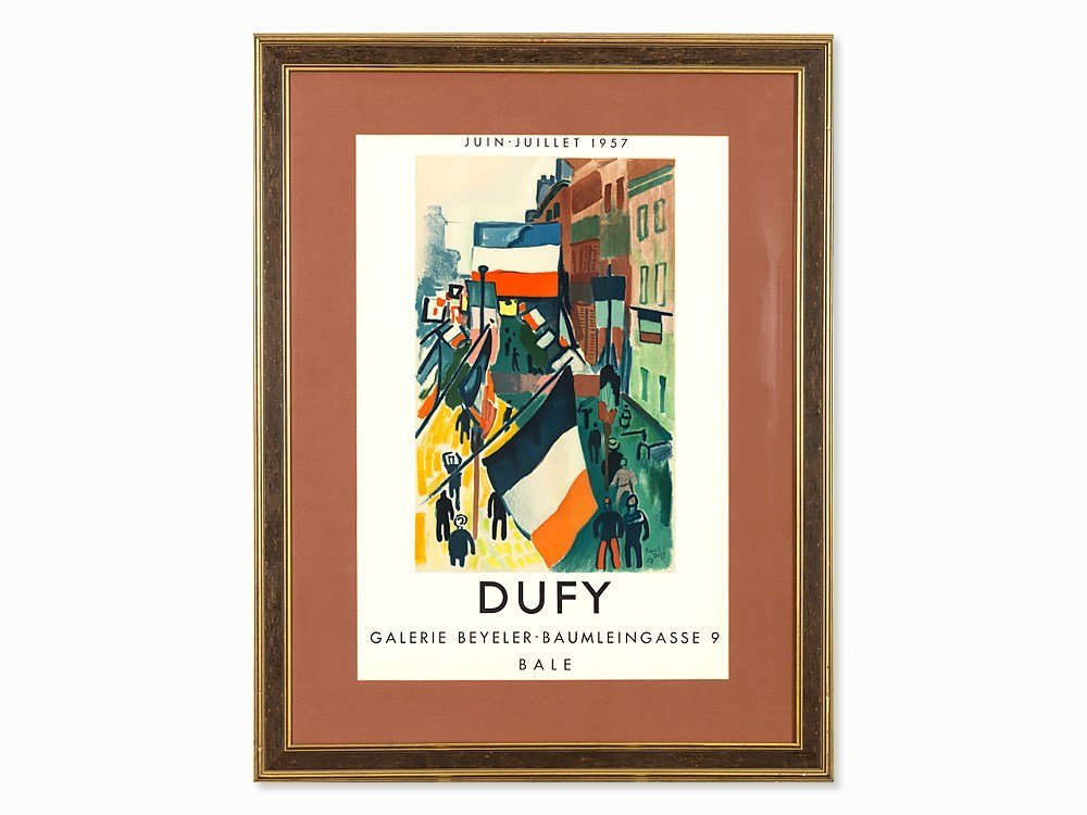 After Raoul Dufy, Lithograph, Exhibition Poster, 1957