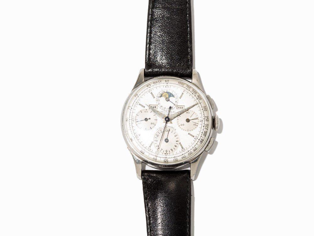 Universal Tri-Compax Chronograph, Ref. 22502, Around - 2