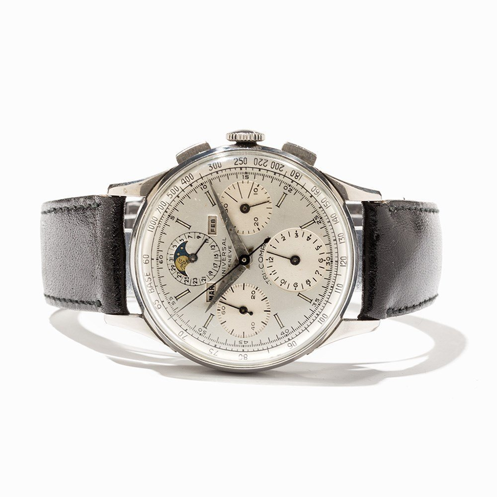 Universal Tri-Compax Chronograph, Ref. 22502, Around - 9