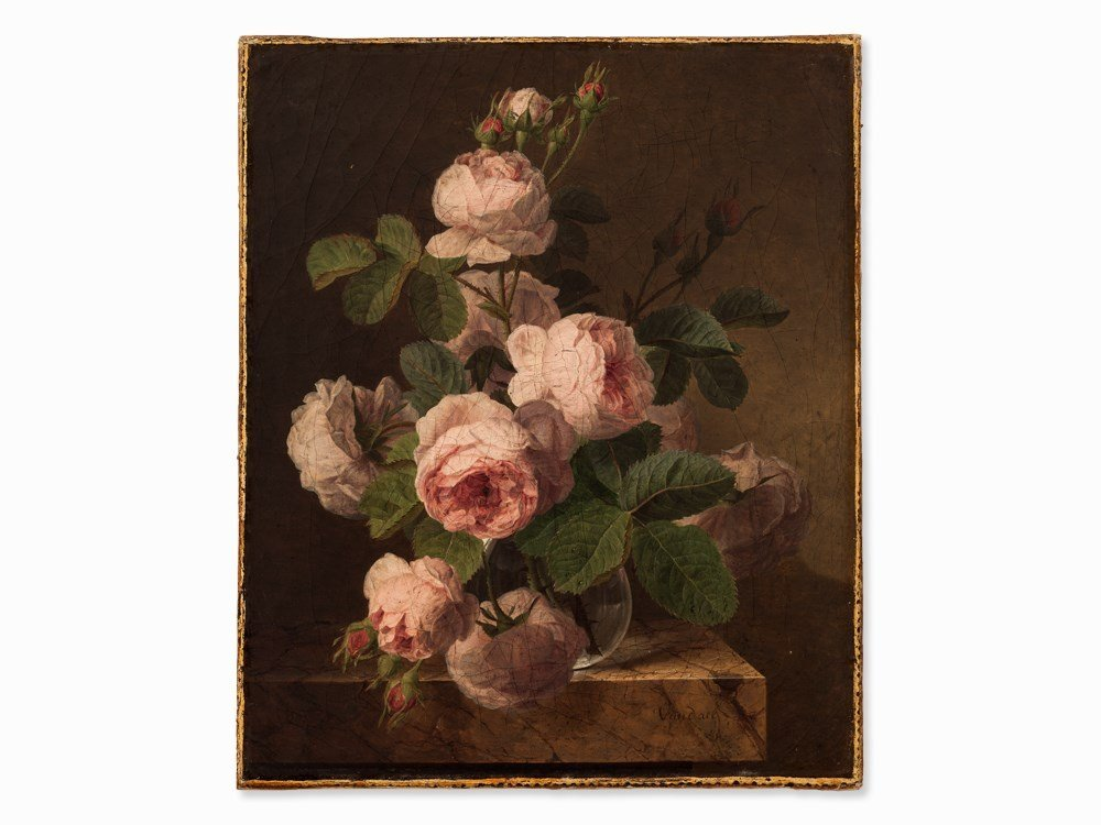 Jan Frans van Dael (1764-1840), Bouquet of Roses, c. - 2