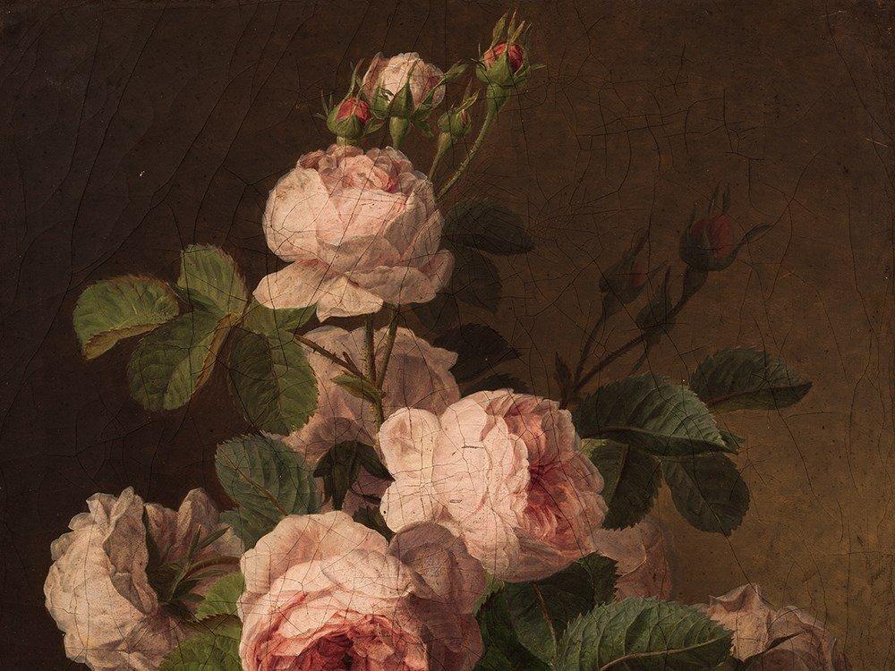 Jan Frans van Dael (1764-1840), Bouquet of Roses, c. - 5