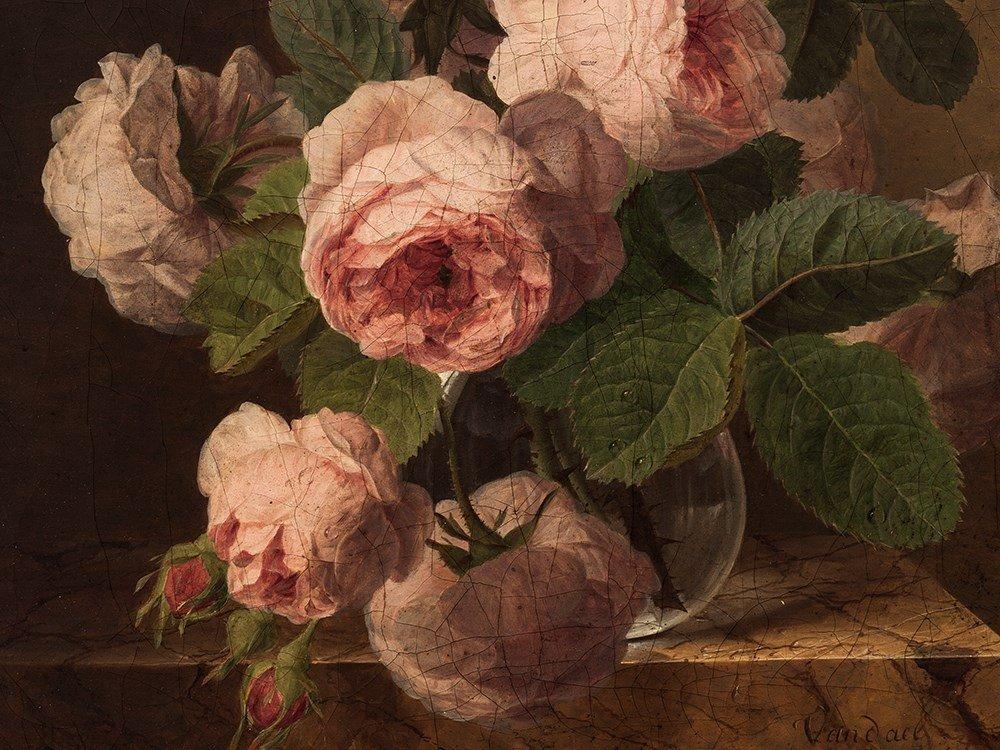 Jan Frans van Dael (1764-1840), Bouquet of Roses, c. - 7