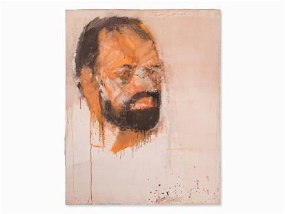 Josef Mikl, Painting, Portrait, Austria, 1987
