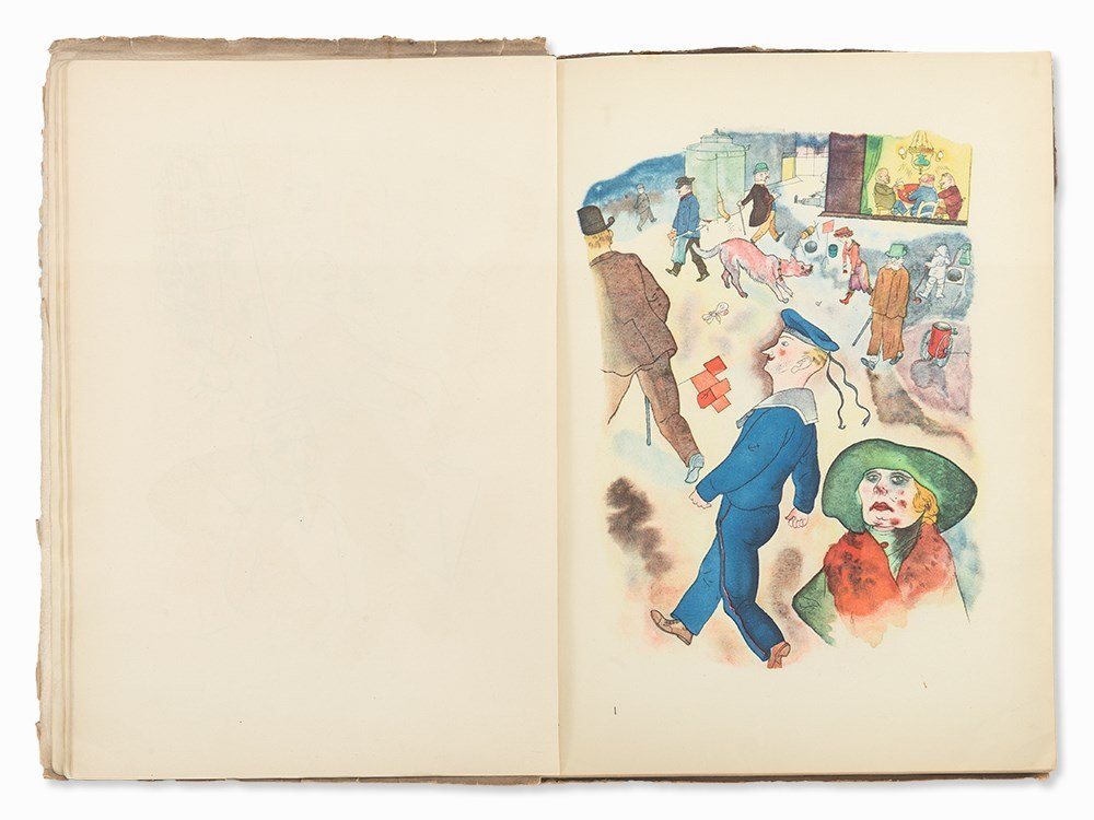 George Grosz, 'Ecce Homo' with 100 Illustrations, - 3