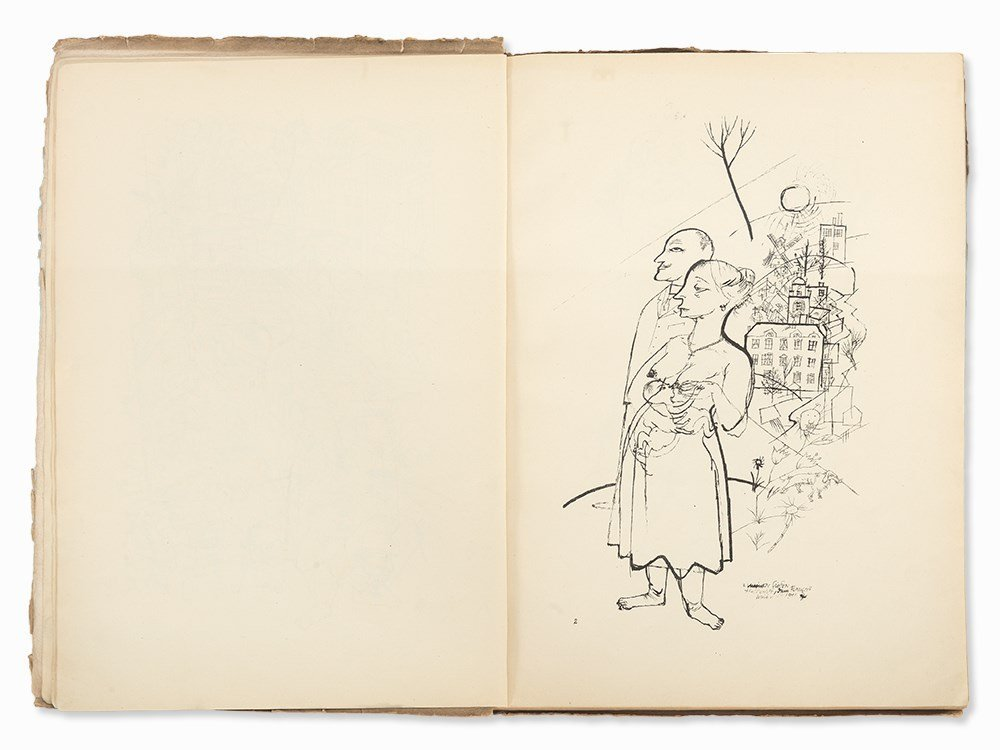 George Grosz, 'Ecce Homo' with 100 Illustrations, - 5