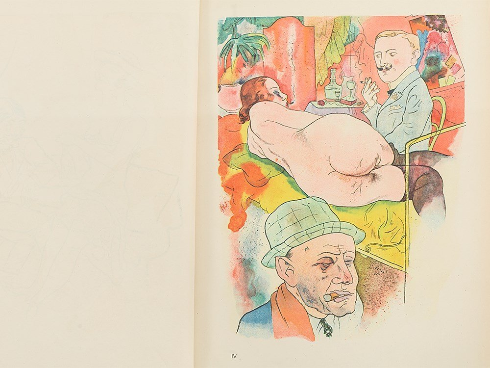 George Grosz, 'Ecce Homo' with 100 Illustrations, - 7