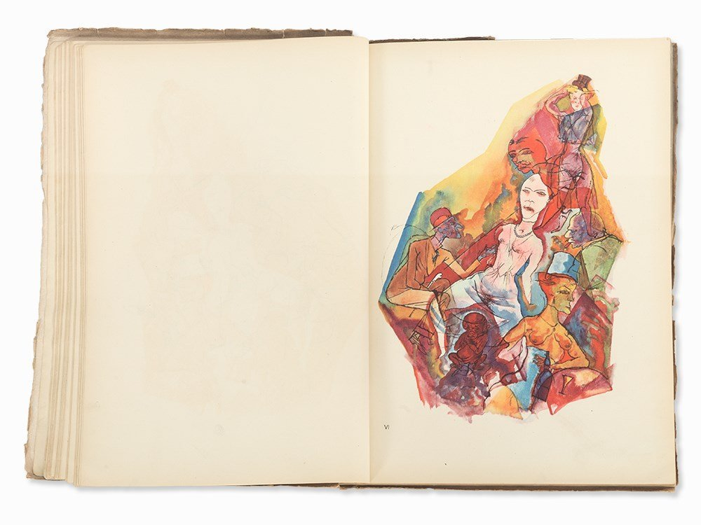George Grosz, 'Ecce Homo' with 100 Illustrations, - 8